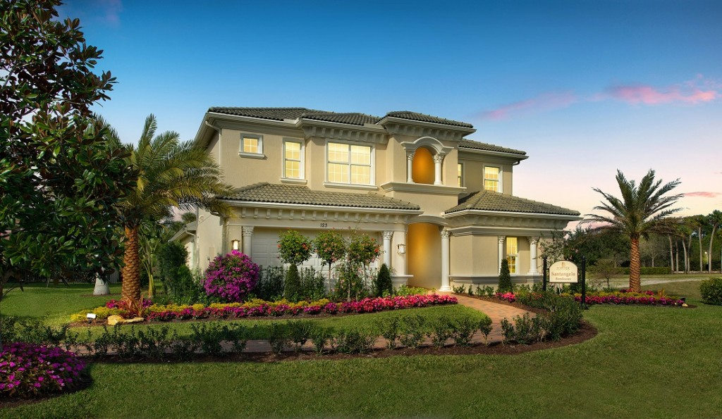 New Toll Brother's Luxury Home in Central Florida