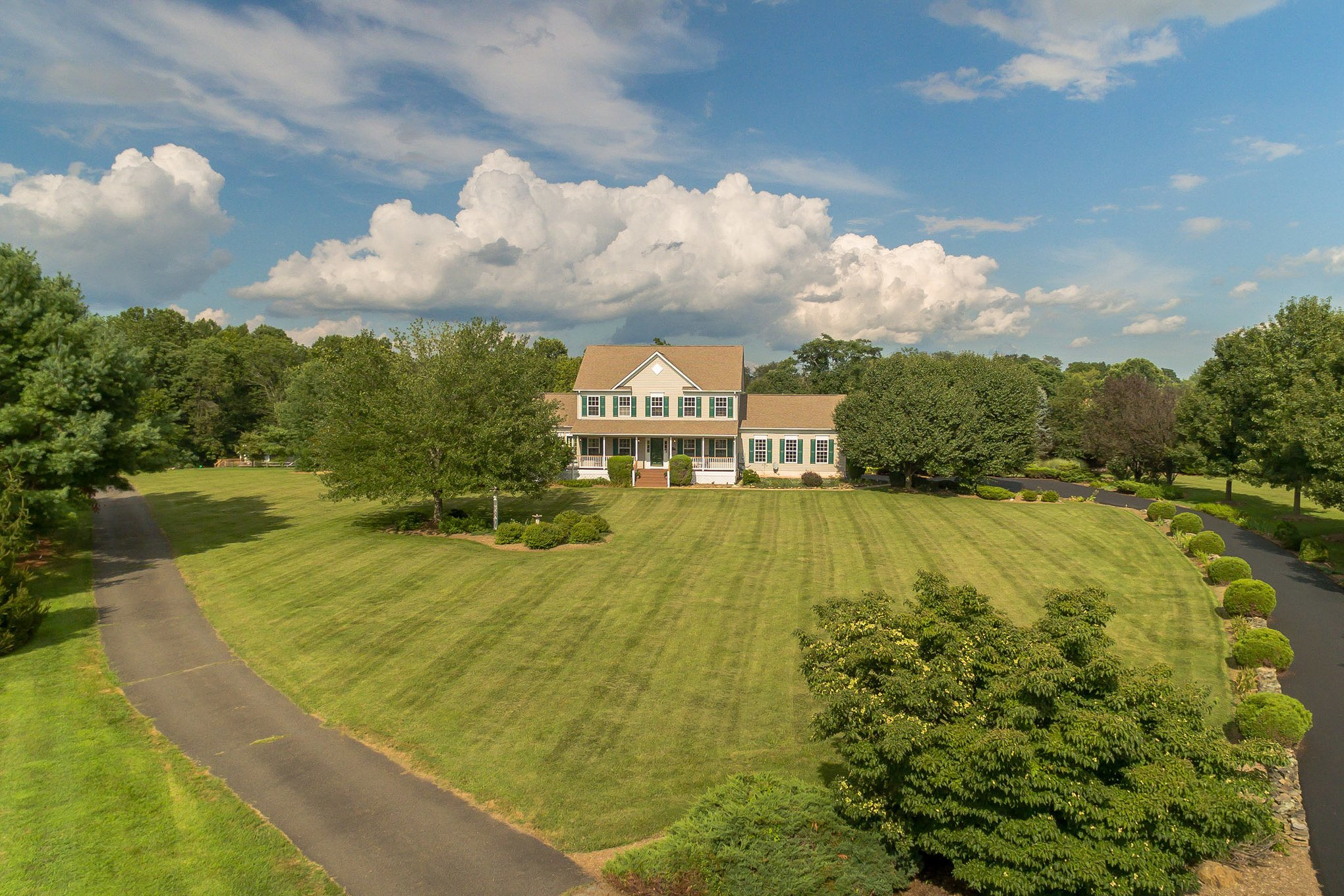 real estate drone photography