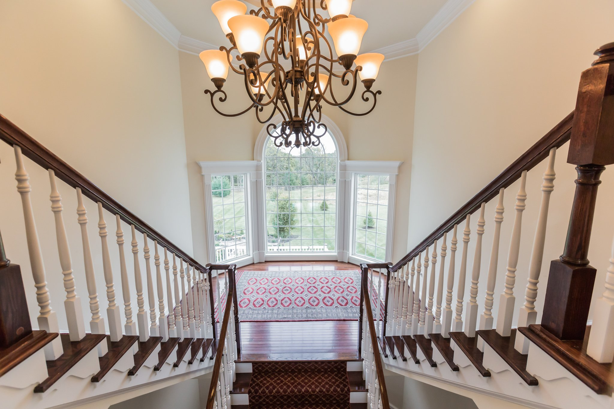 real estate photography - foyer