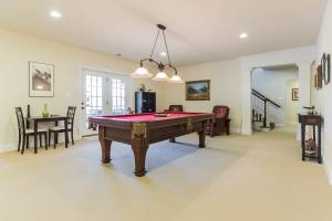 real estate photography - pool room