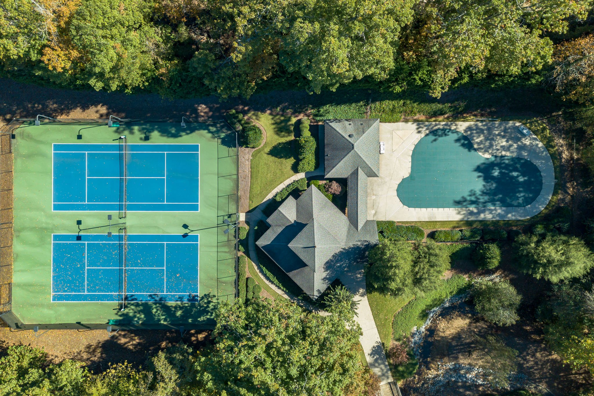 real estate photo - aerial photography
