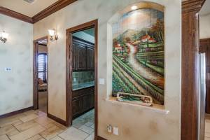 real estate photo - hallway