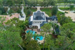real estate photo - aerial view