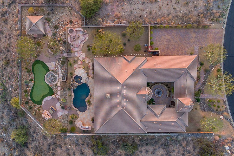 Drone real estate photography pricing